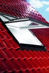 Roto R75 K 114x118 iš PVC su WD