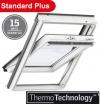 Velux Standard Plus GLU 0051 78x160 dengtas poliuretanu